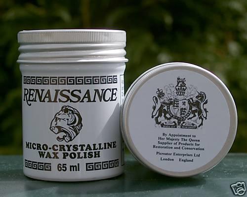 Renaissance Micro kristalline Wachs Politur 65 ML