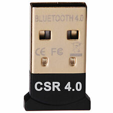 USB 2.0 BLUETOOTH 4.0 DONGLE DUAL MODE ADAPTER  WINDOWS 7 A2DP WINDOWS 8