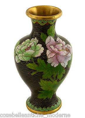 Asian Antiques Just Vaso Bronzo Cloisonné Antiques Potiche Old Cina Bronzes Vase Minguo Period '900 Reputation First Antiques