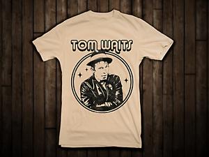 1981 Tom Waits Shirt Gildan Short Sleeve White 100/% Cotton TShirt S-4XL FF1981