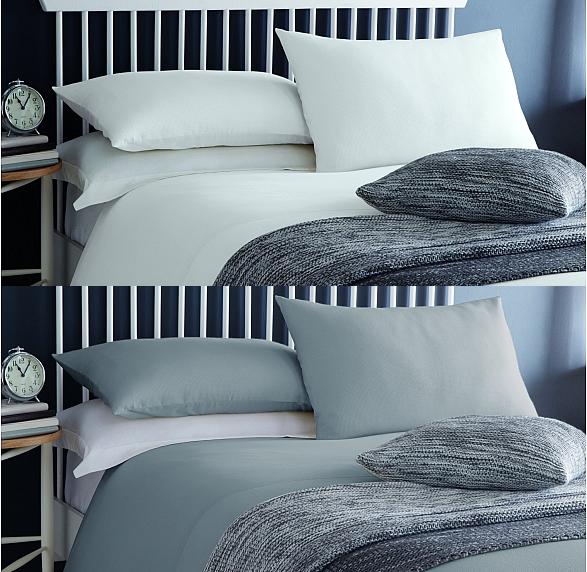 Luxury Serene Ashlea Polycotton Waffle Hotel Style Bedding Quilt Cover Duvet Set