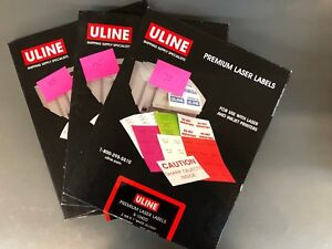 Details about ULINE 253 sheets, 2 5/8