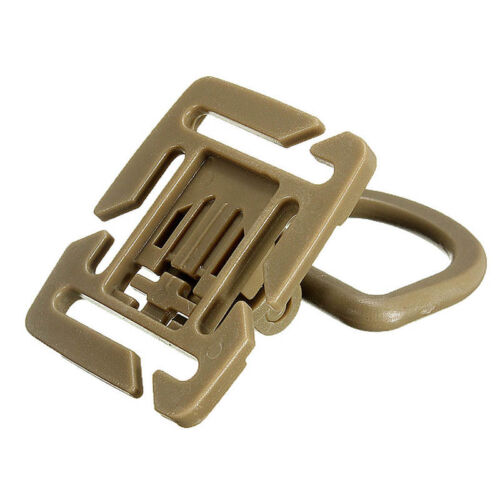 2//5Pcs Molle Strap Backpack Bag Webbing Connecting Buckle Clip EDC Outdoor  TFP0