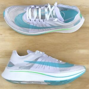 new arrival e0fb7 14508 Image is loading Nike-Zoom-Fly-SP-London-White-Blue-Green-
