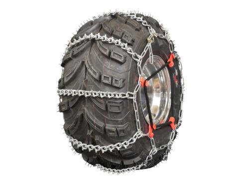 Grizzlar GTU-629 ATV Tire Chains Snow Ladder 2 link  24x8-11 24x8-12 25x8-12