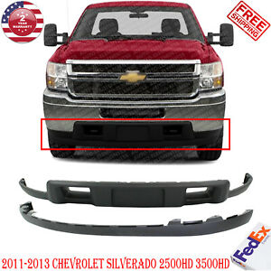 Front Lower Valance W Extension Textured For 2011 2014 Silverado 2500hd 3500hd Ebay