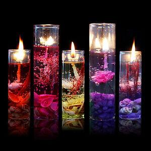 1-10-GLASS-BOTTLES-OCEAN-THEME-SMOKELESS-JELLY-WAX-WEDDING-GEL-CANDLES-GIFT