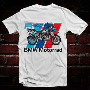 70971efcf3eea NEW GILDAN T-SHIRT BMW R1200 GS MOTORRAD WHITE GILDAN T-SHIRT X H M ...