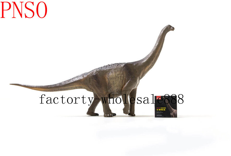 2019 PNSO Rare Huanghetitan giant Dinosaurs Model toy scientific art Figure 27''