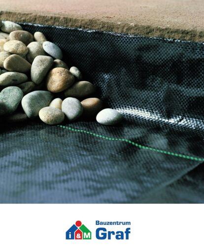 Noor bloqueador//prot malas hierbas tela suelo 105 g//m² negro 0,9 x 10 m #860747