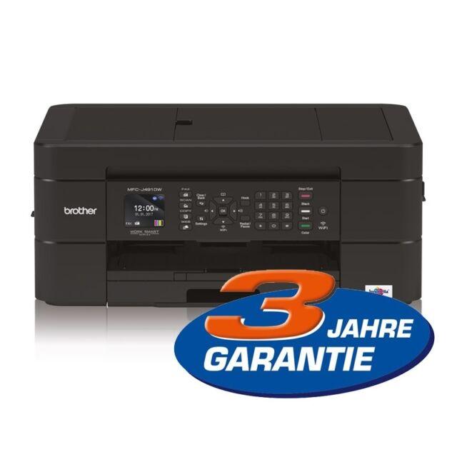 Brother MFC-J491DW 4-in-1 Tinten-Multifunktionsgerät Duplexdruck