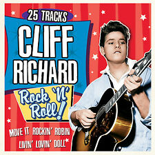 CD CLIFF RICHARD ROCK N ROLL MOVE IT BLUE SUEDE SHOES DONNA WHAT'D I SAY ETC
