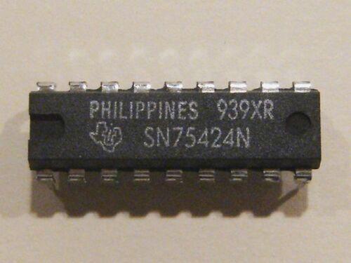 2x sn75424n high-voltage High-current Darlington transistor matriz dip18 ti