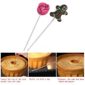1pcs Probe Skewer Cupcake Baking Bread Dough Cooking Utensil Cake Tester Tools Z