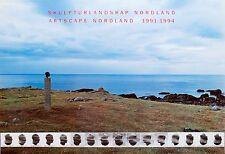 Markus Raetz: Skulpturlandskap Nordland, 1991-92. Rare Exhibition Poster