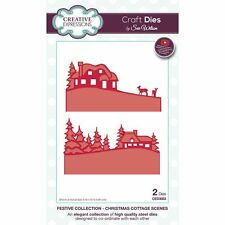 Sue Wilson Festive Collection 2016- Christmas Cottage Scenes - CED3083