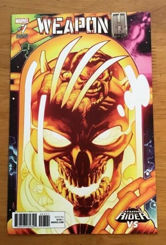 Weapon H # 7 2018 B Cover Variant Chris Stevens Cosmic Ghost Rider VS Cover NM