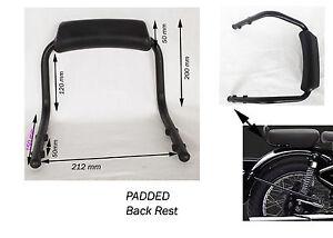 schwarz hinten r ckenlehne haltegriff universal motorrad. Black Bedroom Furniture Sets. Home Design Ideas