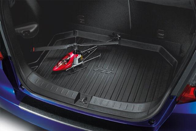 NEW Genuine OEM 2009 2013 Honda Fit Rear Cargo Liner Trunk Tray Black