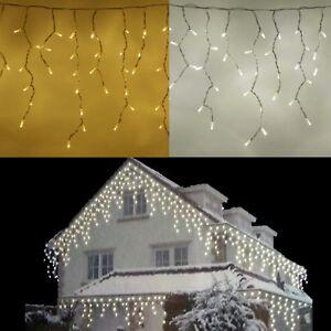 Weihnachtsbeleuchtung Aussen Schneefall.Details Zu Led Lichterkette Eisregen Eiszapfen Schneefall Snowmotion Weihnachtsbeleuchtung