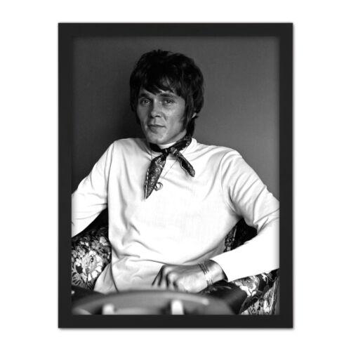 Warren Retrato político Enoch Powell foto enmarcada pared arte impresión 18X24 en