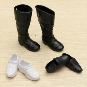Fashion-Handmade-Cusp-Shoes-Boots-Sneakers-Set-For-Ken-Doll-Kids-New-E2U3