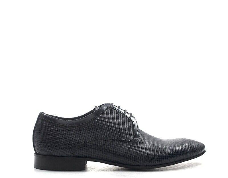 Zapatos Eveet hombre azul naturaleza cuero 16520-bl