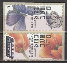 Nederland 2017  Automaatzegels vlinder bloem atm post & go    postfris/mnh