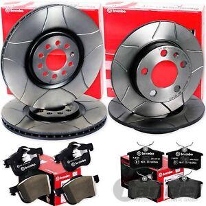 Brembo2 Bremsscheiben Voll 278 mm für Alfa Romeo Bremsbeläge Hinten u.a