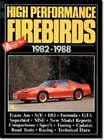Pontiac High Performance Firebirds, 1982-88 by Brooklands Books Ltd (Paperback, 1988)
