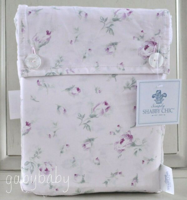 1 SHABBY CHIC**SALE*** RACHEL ASHWELL COUTURE KING FITTED Sheet PINK WHITE