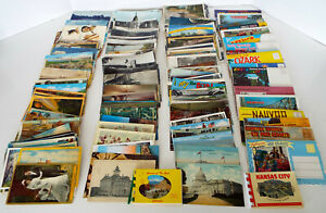 Vintage-Postcard-Collection-216-Piece-Estate-Lot-Used-Unused-Sold-As-Found