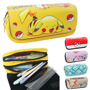 Student-Zipper-Pencil-Case-Box-Poke-Cartoon-Pony-Figure-Storage-Bag-Pocket-Pouch