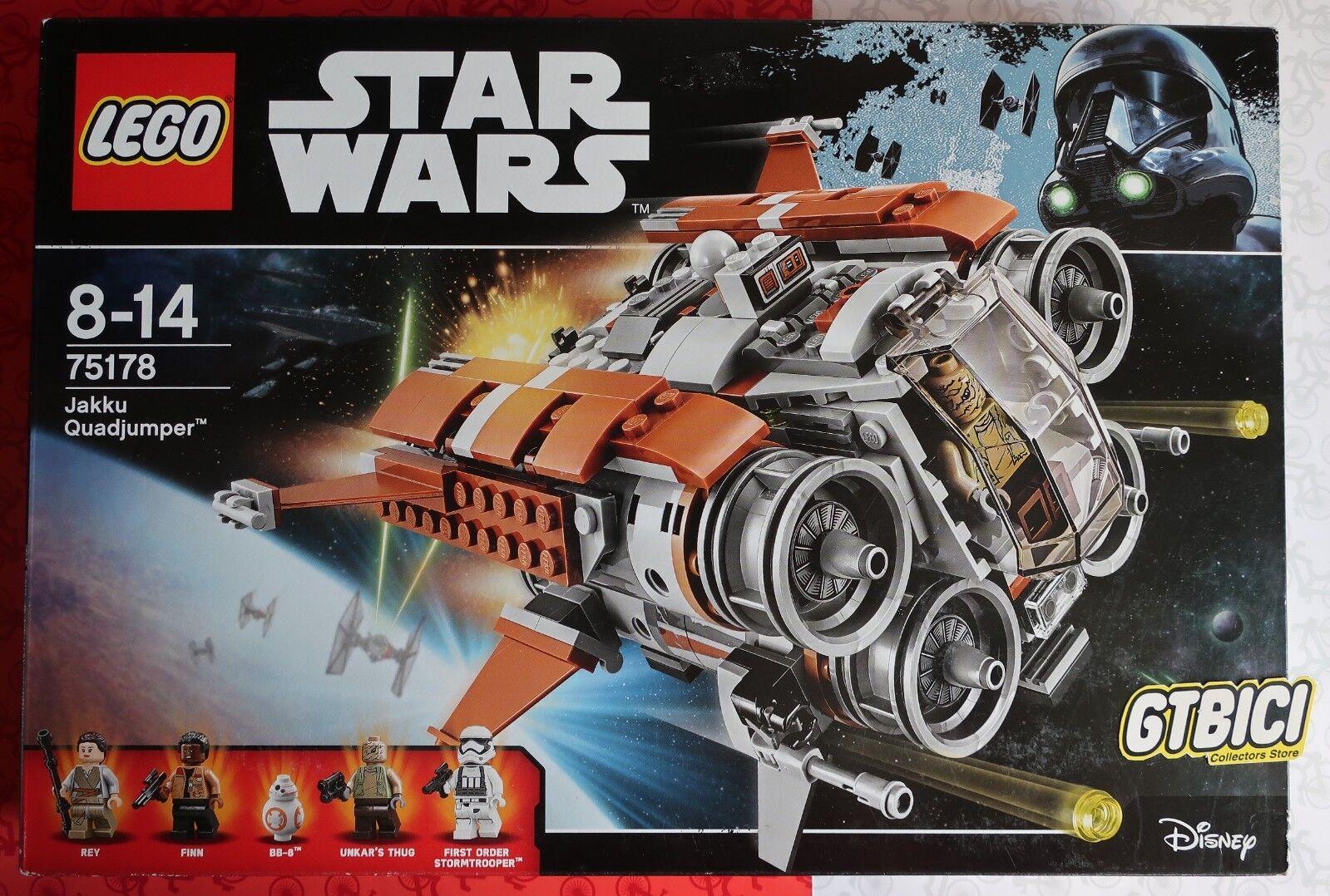 LEGO STAR WARS  `` JAKKU QUADJUMPER ´´  Ref Ref Ref 75178  NUEVO A ESTRENAR afceab