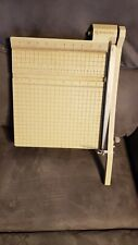 X Acto 12x12 Guillotine Paper Cutter Trimmer Vintage