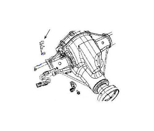 Jeep Actuator Bracket 68003568AA