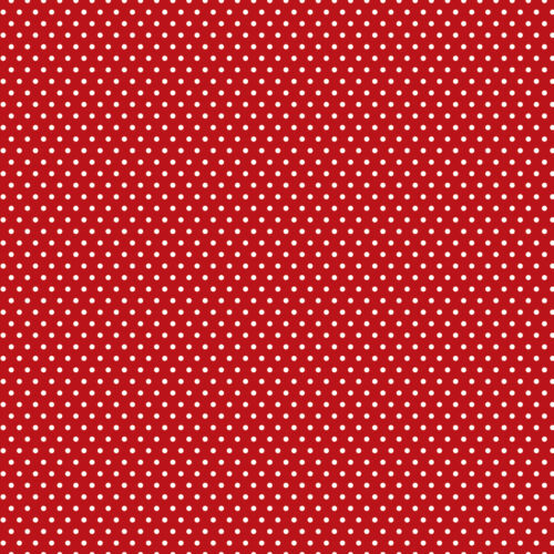 "Core/'dinations Core Basics Patterned Cardstock 12/""X12/""-Red Small Dot"