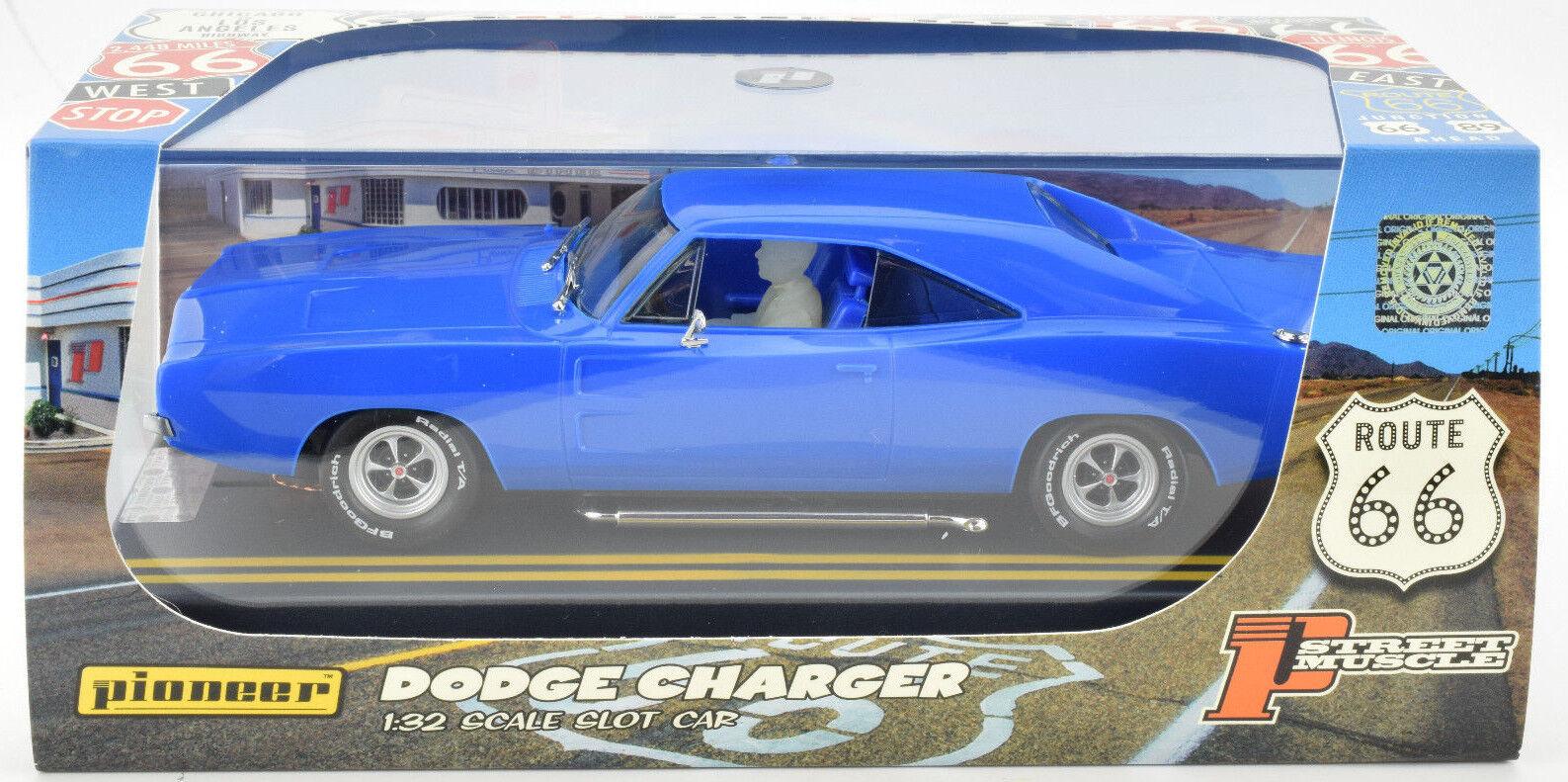 Pioneer 1969 Dodge Hemi Ladegerät Blau J-Code Prototyp 1 32 Maßstab SMassecar