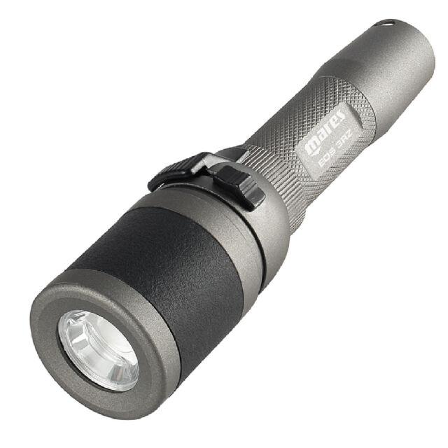 RO1 MARES Lampada EOS 3RZ metal LED torch Ricaricabile  320 Lumen !!!