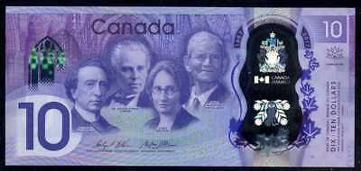 CANADA  5  DOLLARS  2013  P 106b  Prefix HCM Polymer  Uncirculated