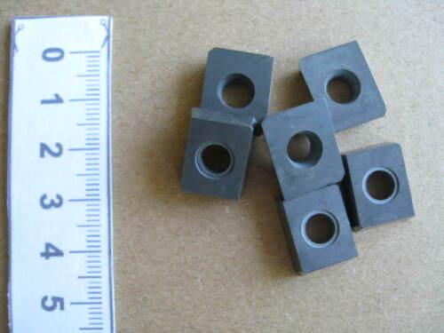15,7 x 12,7 x 4,7  neu #07 ca 6 Stck Wendeschneidplatten WKM Schneidkantenlä