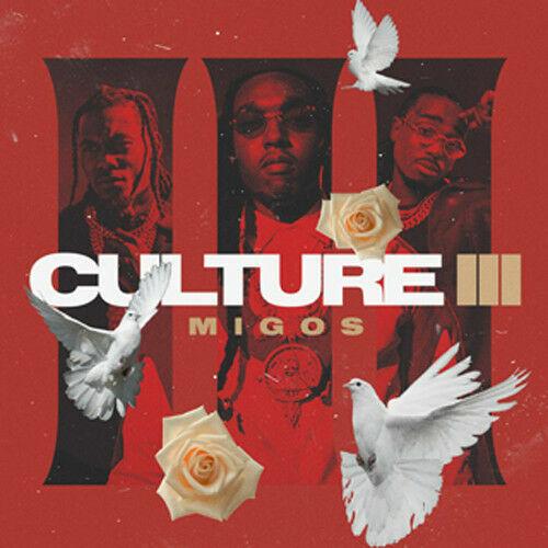 Migos Culture II Cover Poster 2018 Album Hip Hop Rap Art Print 20×20 24×24 32×32
