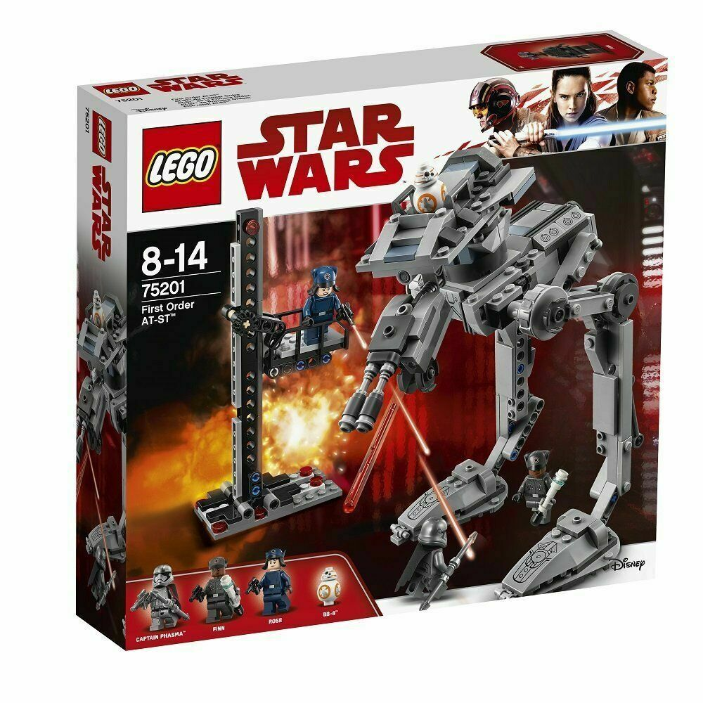 LEGO estrella guerras 75201 - primero  Order at-st ATV GUERRE STELLARI GEN - 2018  Spedizione gratuita al 100%