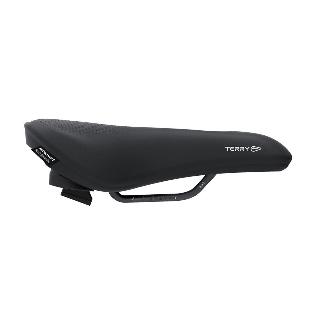 Terry Fisio Flex Gel damen Comfort Damen Trekking Fahrrad Sattel schwarz