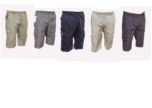 MENS BIG FULL FIT casual cool smart cargo shorts new size 2XL  3XL  4XL  5XL 6XL