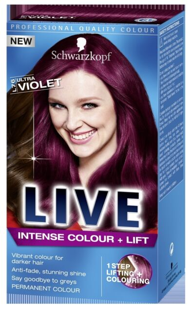 30ml 2 Professional Permanent Color Dye Cream Grape Red Natural Plant Extracts Hair