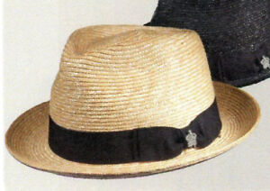 Christys Crown Toyo Straw Fedora Hat 2