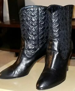 outlet fast delivery Cheapest for sale Sergio Rossi Leather Mid-Calf Boots Q6Z9K2