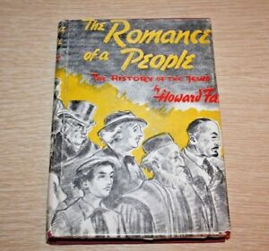 Howard Fast THE ROMANCE OF A PEOPLE :  1st Edition 1st Printing 1941