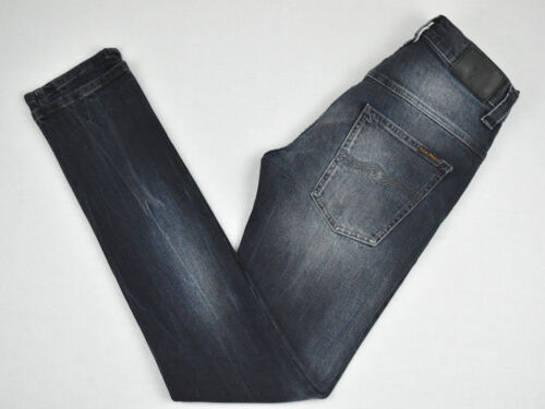 Womens Nudie Jeans Jean L32 Tape Organic Black D0130 Cotton Ted W28 AIrgqxCIw